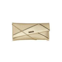 ESBEDA Emboss Pattern Clutch For Women,  gold