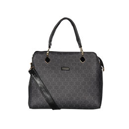 ESBEDA Printed Pattern Signature Logo handbag For Women,  black