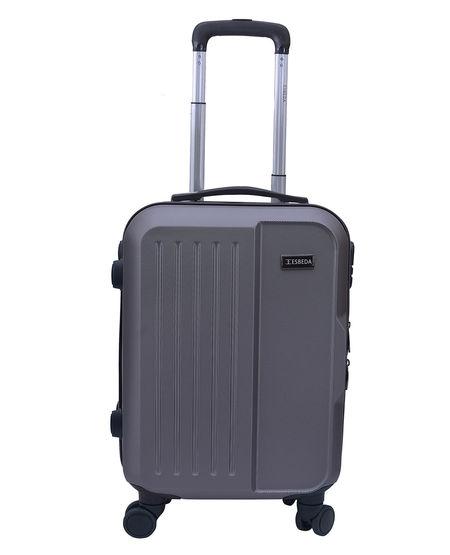 ESBEDA Solid Pattern Cabin Luggage bag 001003164,  metal