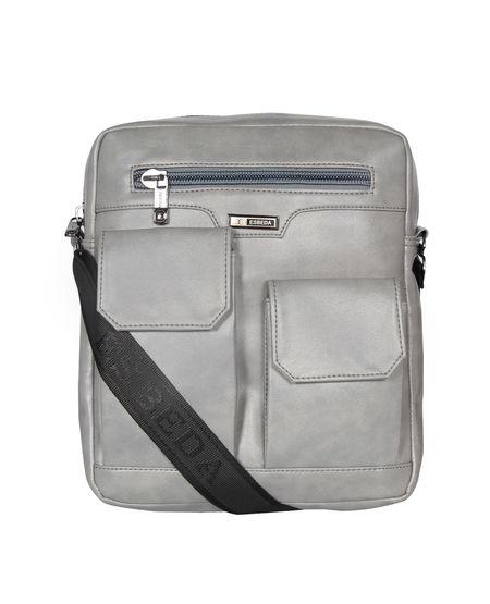 ESBEDA Solid Camaro Crossbody Sling bag For Men,  grey