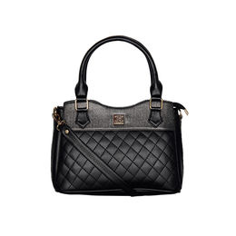 ESBEDA Quilted Pattern Handbag For Women,  black