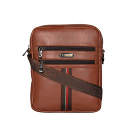 ESBEDA Solid Rodeo Crossbody Sling bag For Men,  tan