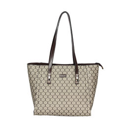 ESBEDA Printed Pattern Signature Logo handbag For Women,  khaki