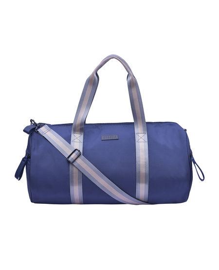 ESBEDA Solid Pattern Gym Bag 001005229,  blue
