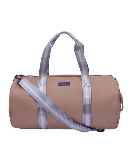 ESBEDA Solid Pattern Gym Bag 001005228,  khaki