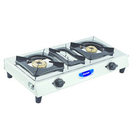 Sunshine Taper-3 Double Burner Stainless Steel Gas Stove