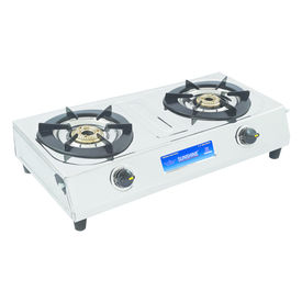 Sunshine Magic Dlx Double Burner Stainless Steel Gas Stove