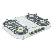 Sunshine Skytech Plus Four Burner Stainless Steel Gas Stove, png, manual