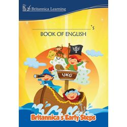 Britannica s Early Steps- Book of English- UKG- Paperback