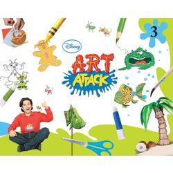 Art Attack- Art And Craft- Grade 3 (Paperback)