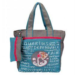 The Jute Shop Amazing Aquarius Bag