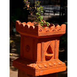 MUD FINGERS Tulasi Brindavan (12 Inches)