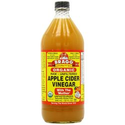 BRAGG'S APPLE CIDER VINEGAR, 473 ml