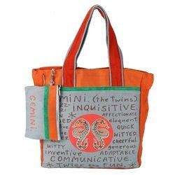 The Jute Shop God made me a Gemini Bag