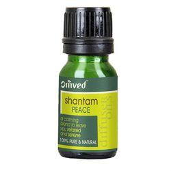 OMVED Copper oil diffuser set - shantam diffuser oil
