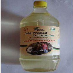 YB NATURALS COLD PRESSED COCONUT OIL, 1 litre