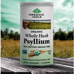 Organic India Psyllium Husk, 100 gm