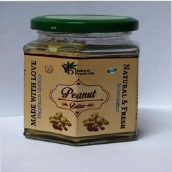 YB Natural Peanut Butter, 200 gm