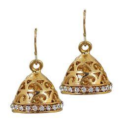 Deco Junction Fancy Ethnic Jhumki, 2, golden