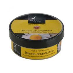 NATURAL BATH & BODY Lemon Chamomile Foot & Hand Cream