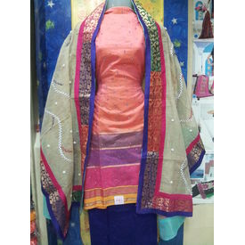 Mamta - 1128MT10WEOK - Kora Silk Suit