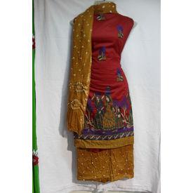 Sartin Bandhej Suit- 1260SM18MOHK
