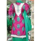 Mamta - 1121MT06SMOK - Sartin Silk Suit