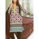 DIPTI SUIT - 1008DI10MITE - COTTON PRINTED