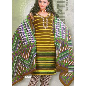DIPTI - 1006DI08MITE - COTTON PRINTED SUIT