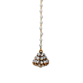 Kundan Adorned Maang Tikka For Women