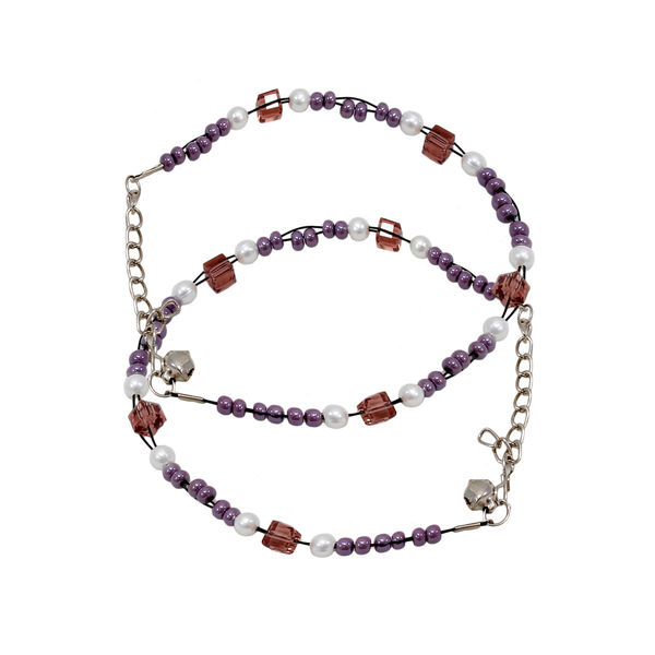 Brown Beads Fashion Anklet For Girls