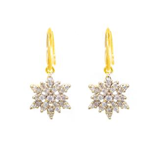 Trendy American Diamond Ethnic Danglers Earrings