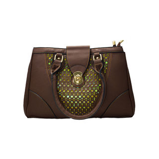 Designer Dark Brown Sling Handbag For Women