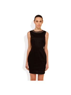 Street 9 Embellished For Fun Dress, m,  black