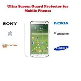 Ultra Clear HD screen scratch guard Guard protection Micromax A119