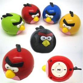 Use as a pendrive card read support 8gb Designer Angry Birds MP3 WMA Player
