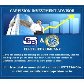 Capvision Investment Advisory Services Including Free Trials and Get 25% off in your First Transaction