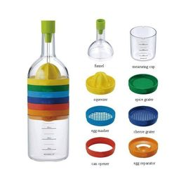 Bin Tools 8 In 1 Creative Kitchen Bottle Snazzy Colorful Stack Fun