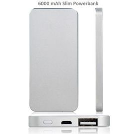 6000mah Power bank charger Same Shape As iPhone 5 for samsung lg HTC Sony