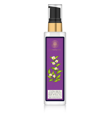 Forest Essentials Oudh & Green Tea Body Lotion