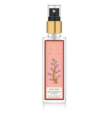 Forest Essentials Sandalwood & Vetiver Body Mist