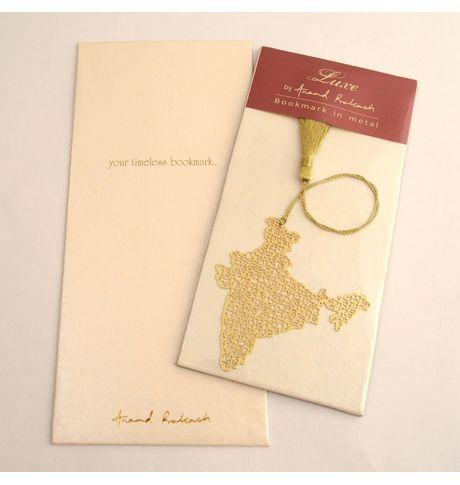 Anand Prakash India Map Bookmark