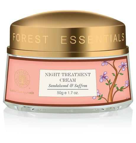 Forest Essentials Sandalwood & Saffron Cream