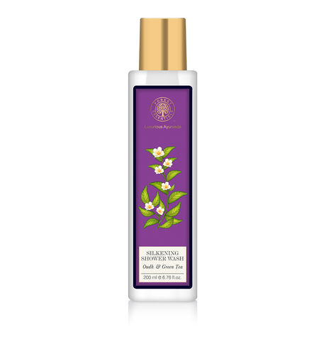 Forest Essentials Oudh & Green Tea Silkening Shower