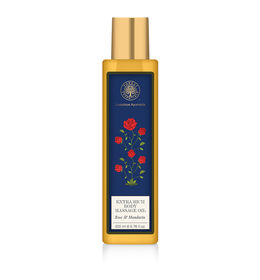 Forest Essentials Rose Body Massage Oil