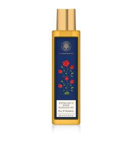 Forest Essentials Rose Body Massage Oil