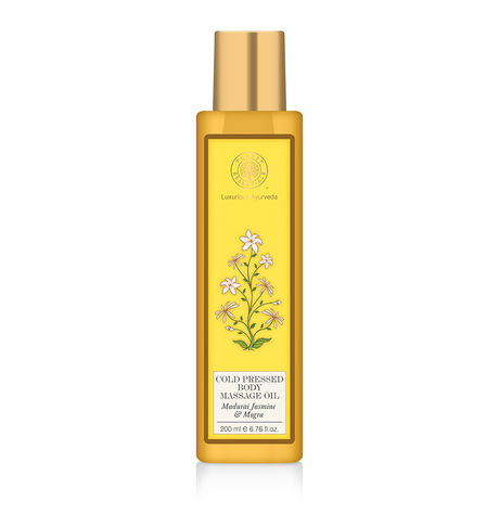 Forest Essentials Jasmine Body Massage Oil