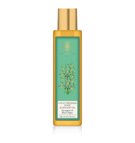Forest Essentials Pepper Body Massage Oil