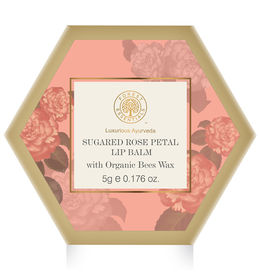 Forest Essentials Rose Petal Lip Balm