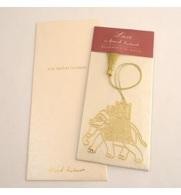 Anand Prakash Elephant With Carriage Bookmark